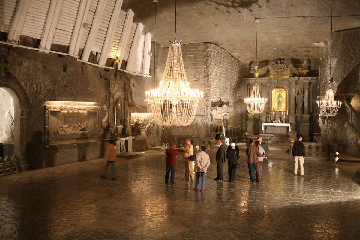 Wieliczka Salt Mine St Kinga Chapel tours from Krakow