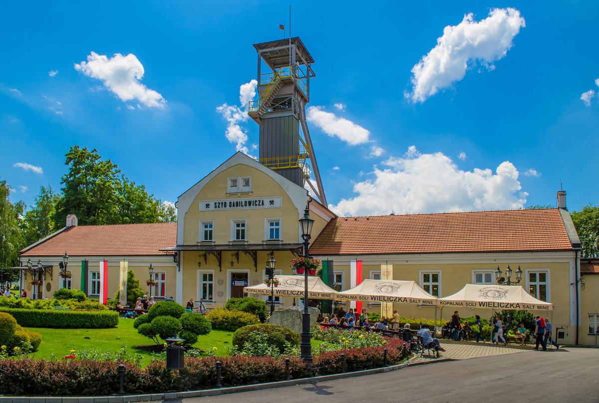 Wieliczka Salt Mine Danilowicza shaft tours from Krakow