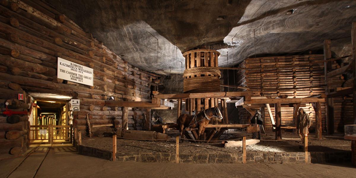 Wieliczka Salt Mine exposition tours from Krakow