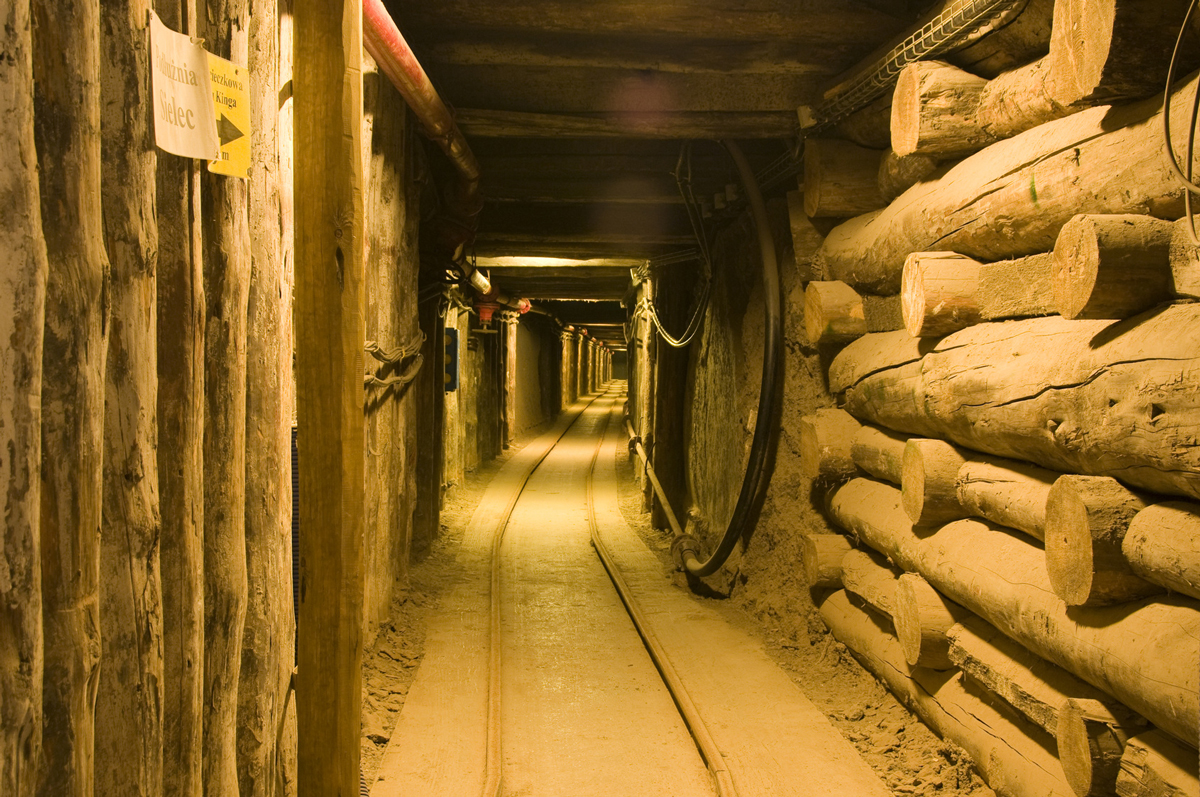 Wieliczka Salt Mine tours from Krakow underground tunnel Unesco