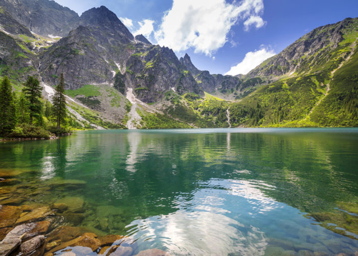 Zakopane Tatras Mountains Morskie Oko Sea Eye Lake