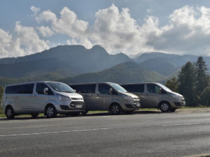 Zakopane Tatras Mountains view for Giewont tour group transfer trip
