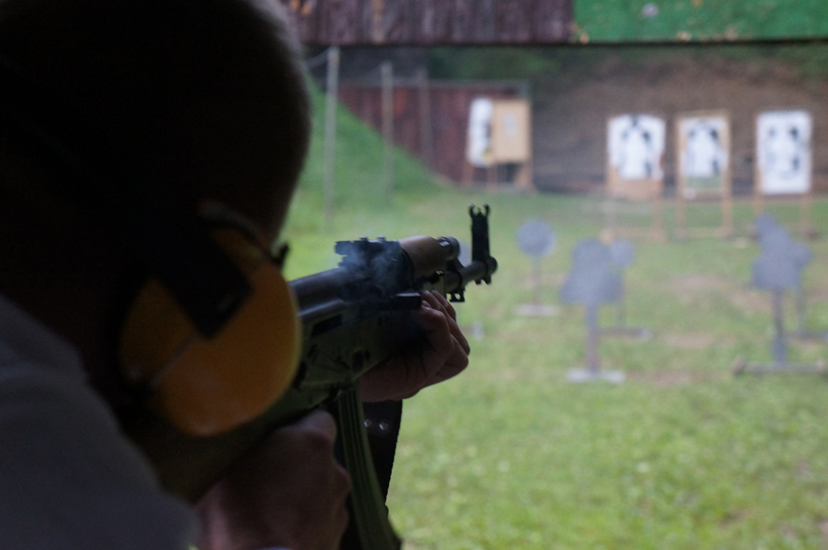 shooting krakow range transport AK47 packge